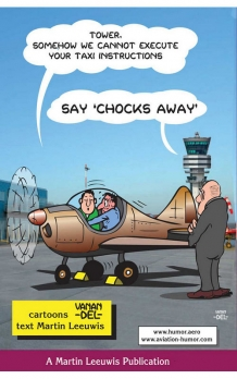 Say chocks away